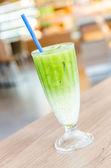 Buzlu yeşil çay kahve — Stok fotoğraf