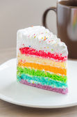 Rainbow cakes — Stock Photo