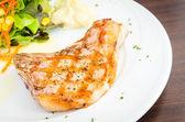 Pork chops steak — Stock Photo