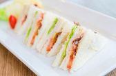 Club sándwiches — Foto de Stock