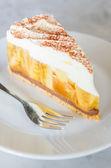 Banoffee pie — Stock Photo