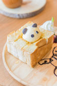 Honey toast — Stock Photo