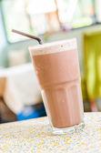 Chocolate frappe — Stock Photo
