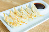 Gyoza japanese — Stock Photo