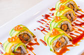 Sushi rollen — Stockfoto