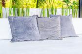 Dekorativní polštáře — Stock fotografie