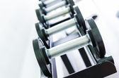 Gym equipment — Foto Stock