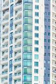 Windows office building background — Stock Photo