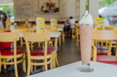 Iced chocolate — Stock Photo