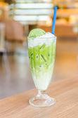 зеленый чай со льдом — Стоковое фото