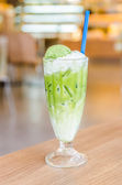 Iced green tea — Stock Photo