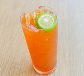 Iced lemon tea — Stok fotoğraf