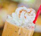 Iced mocha coffee — Stock Photo