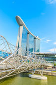 The Marina Bay Sands Resort Hotel in Singapore — Stock Photo
