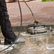 Paving cleaning — Stock Photo #23680101