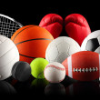 Balls in sport — Stock Photo #15558827
