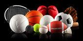 Palle nello sport — Foto Stock