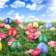 Stock Photo: Easter meadow