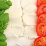 italské potraviny — Stock fotografie