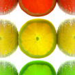 Lemon traffic light — Stock Photo #15749067