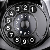Rotary dial — Stock Photo
