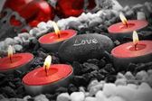 Láska zátiší — Stock fotografie