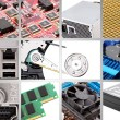 Computer components - Stock Photo