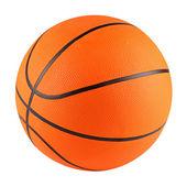 Koszykówka biały — Zdjęcie stockowe