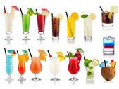 Cocktail en longdrink set — Stockfoto