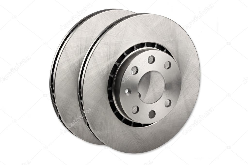 Brake disc of a car  Stock Photo #15751105