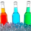 Icecold drinks — Stock Photo