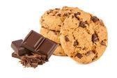 Chocolate cookies — Stock Photo