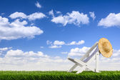 Deckchair — Stock Photo