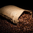 Stock Photo: Coffee bag