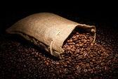 Coffee bag — Stock Photo