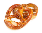 Fresh german pretzel — Stock Photo
