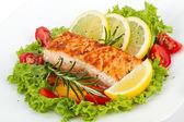 Salmon filet — Stock Photo