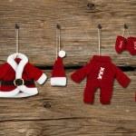 Santa Claus clothes — Stock Photo #36596223