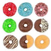 Donut set — Stock Photo