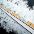 Stock Photo: Lifeboat row