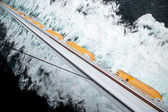 Lifeboat row — Stock Photo