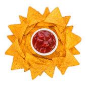 Tortilla chips sun — Stock Photo