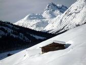 Snowy Austrian Alps — Stock Photo