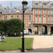 Paris, Panoramic: Place des Vosges — Stock Photo #16991957