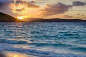 Восход солнца на пляже Vatersay — Стоковое фото