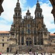 Santiago Cathedral — Stock Photo