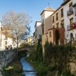 Granada - Carrera del Darro — Stock Photo