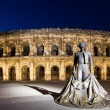 arena of nimes — Stock Photo