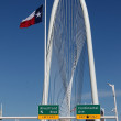 Margaret Hunt Hill Bridge - Stock Photo