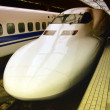 Bullet Train in Japan - Stock Photo